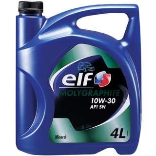 ELF Molygraphite Engine Oil 10W30 (4L)