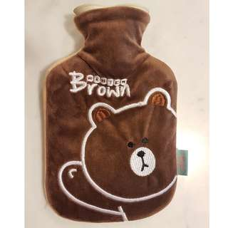 Adorable hot water bag/pouch/warmer