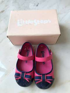 Little steps Pink Mary Janes