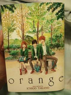 ORANGE(the complete collection 1) manga