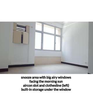Big with High Ceiling Unit for Rent (4 pax max) near Intramuros U-belt
