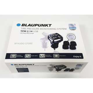 BLAUPAUNKT TIRE PRESSURE MONITORING SYSTEM TPM 2.14 USB