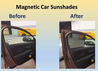 VW Touran 2015 Magnetic Shades
