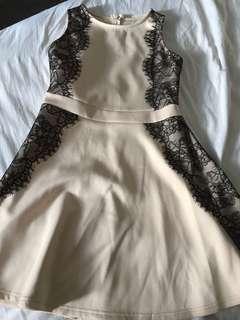 Nude colour Dress