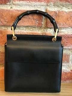 🈹Gucci vintage bamboo handbag, with shoulder strap