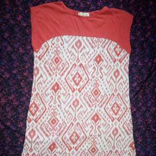 Aztec Cotton Dress