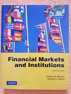 Financial Markets and Institutions seventh edition