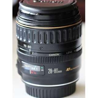 Canon EF 28-80mm USM (Version 1, 1991 model)