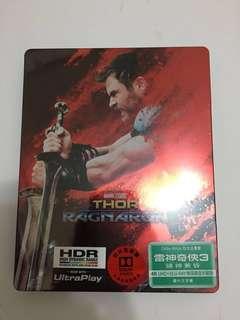 Thor 雷神奇俠3(鐵盒裝)4KUHD+Blu-Ray