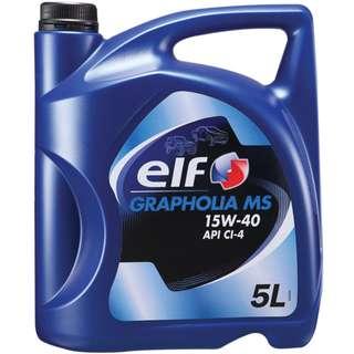 ELF Grapholia MS Diesel Engine Oil 15W40 (5L)