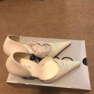 Aldo leather heels 38