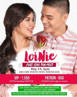 LoiNie Fanmeet on May 19