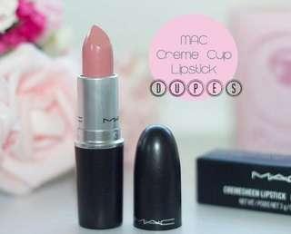MAC Cremesheen Lipstick Rouge A Levres CRÈME CUP