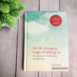 [Hardcover - ENGLISH] The Life Changing Magic of Tidying Up - Marie Kondo