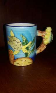 Cute turtle cup