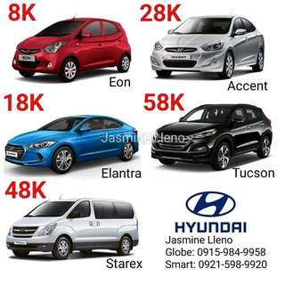 Low DP! Brand New Hyundai Cars Fast Approval