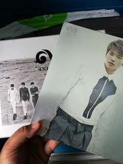 Infinite Be Back Album + Woohyun photocard