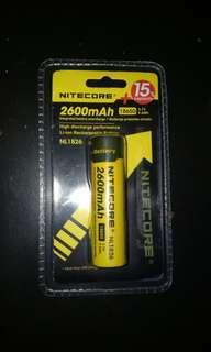 Nitecore Battery 18650