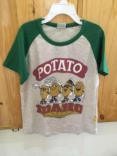 Potato tshirt