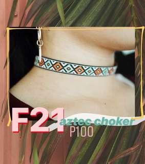 F21 Aztec Choker