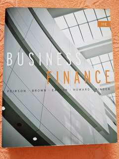 Business Finance Eleventh edition