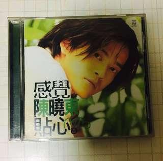 CD - 陈晓东 (感觉贴心) Music CD