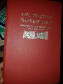 The Norton Shakespeare Oxford 2nd Edition