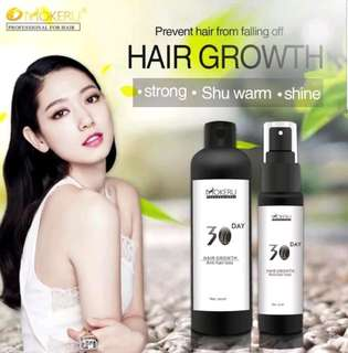 Hair Growth Treatment Spray - 300ml refill + 30ml spray bottle