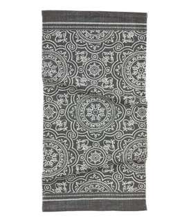 H&M Home Patterned Cotton Rug