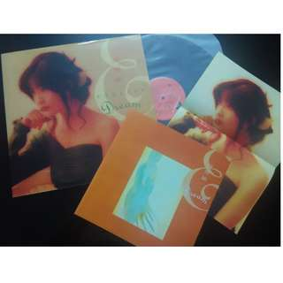 Endless Dream - 周慧敏 Vivian LP COVER,POSTER AND SONG LIST - REPRINT CONDITION - EX