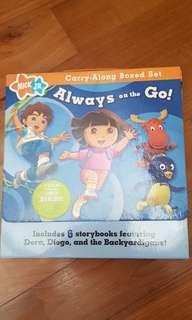 Dora boxed book set 5 readers