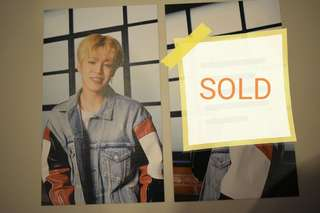 BTS Jimin mediheal postcard