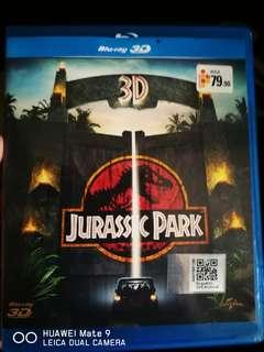 Jurassic park 3d bluray (ori)