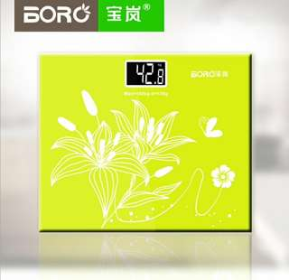 Bao Lan mini electronic scale household body health weight scale electronic weighing 25CM*21CM