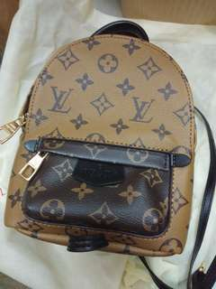 Lv Louis Vuitton Spring Palm backpack