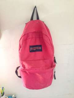 Pink Jansport Bagpack