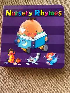 Nursery rhymes board book