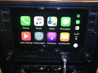 Rcd330 with carplay, volkswagen