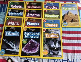 National Geographic Kids Readers (13 books)