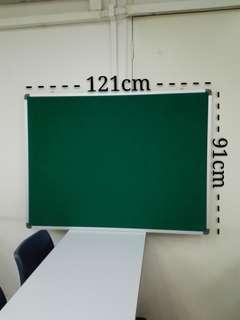 Notice Board (Green Felt Pin ).