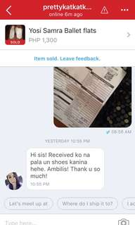 Happy buyer! Proof of shipping