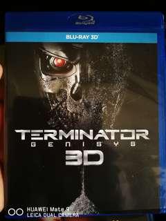 Blu-ray 3d Terminator Genisys (ori)