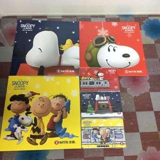Snoopy Movie 車票 連套摺