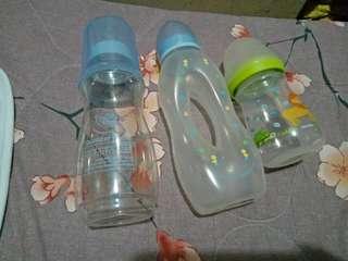 Unused Feeding Bottles