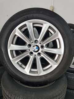 17 Inch 5x120 Original BMW Rim & Tyre