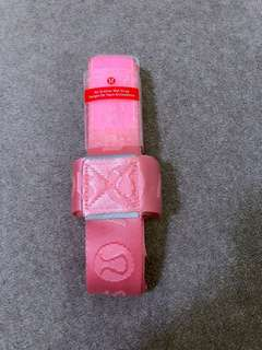 NEW Lululemon No Brainer Yoga Mat Strap, Coral Pink