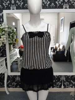Atasan blouse semi dress
