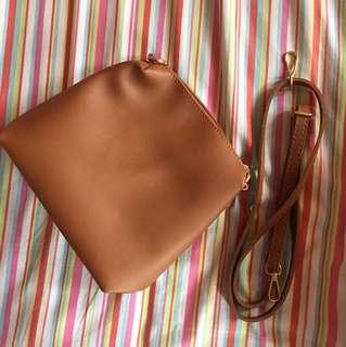 Kimbel Brown Sling Bag