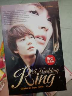 Novel Wedding Ring (inspired by super junior)