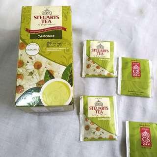 Steuart's Tea Camomile 19 bags